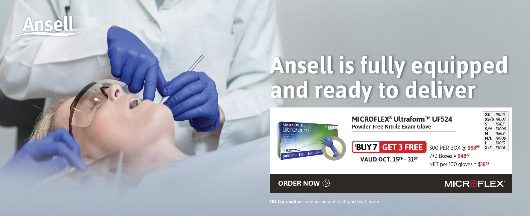 Ansell Ultraform Gloves
