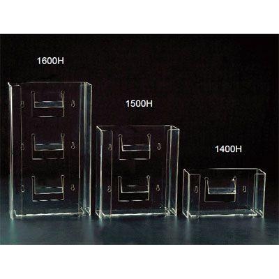Plasdent, Glove Dispenser, Double Horizontal, 10W x 11 3/8H x 3 7/8D