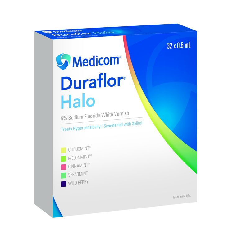 Medicom, Duraflor Halo, MelonMint, 32/box