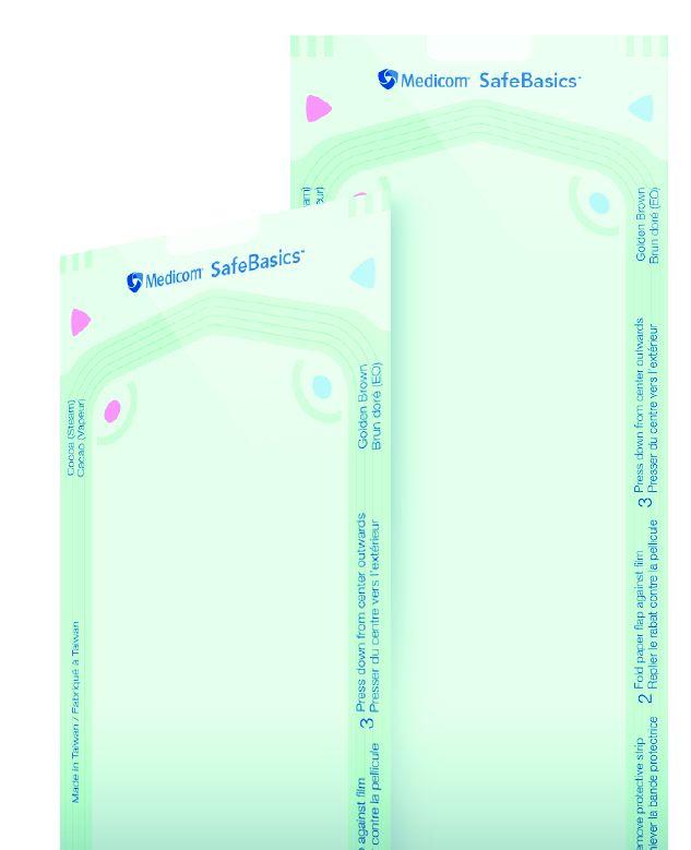 Medicom, SafeBasics, Pouches, Self Seal, 3.5