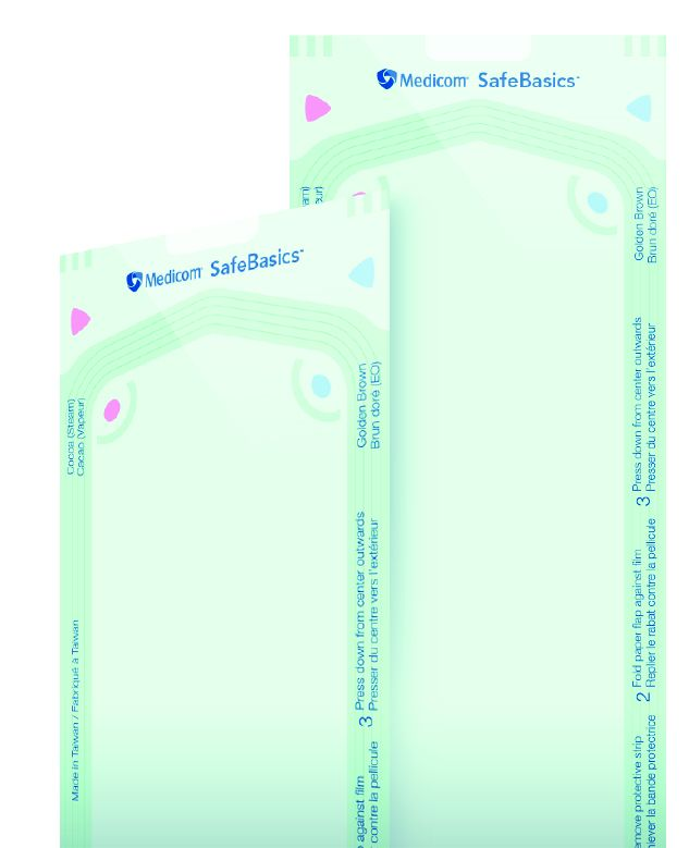 Medicom, SafeBasics, Pouches, Self Seal, 2.25