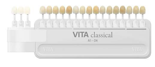 Vita, Shade Guide, Classic, A1-D4 with Bleached Shades