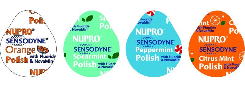 Dpy, PCD, Nupro Sensodyne, Cups, Peppermint, Medium/Coarse, 100/Box