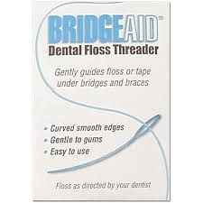FlossAid, BridgeAid, Floss Threader, 100 packets of 10/Bx