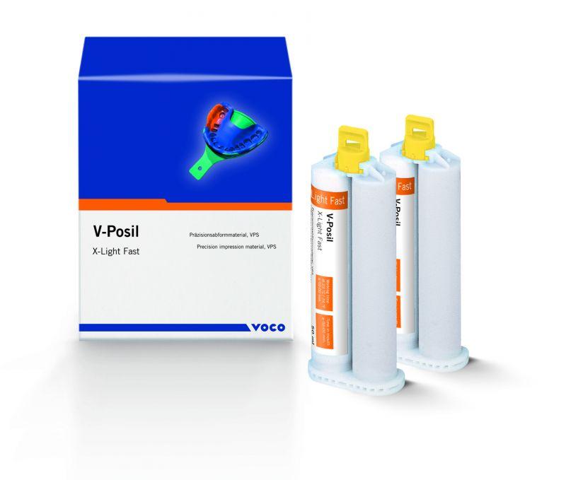 Voco, V-Posil, VPS, X-Light, Fast, 2 - 50ml Cartridges w/ Accessories