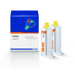 Voco, V-Posil, VPS, Monophase, Fast, 2 - 50ml Cartridges w/ Accessories