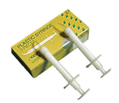 GC, Syringe, Plastic, 2 syringes+ accessories