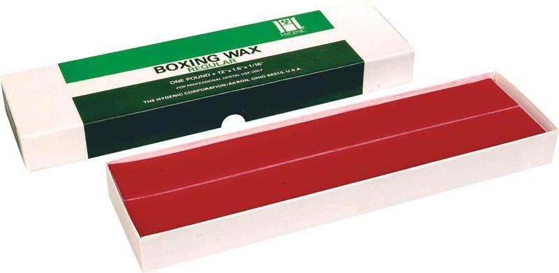 Hygenic, Boxing wax, Red, Regular, 1lb