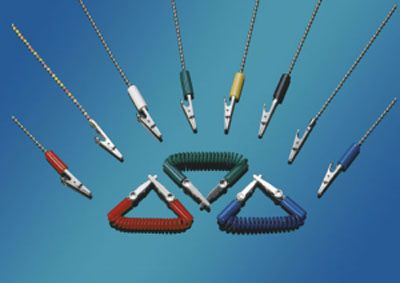 JRRand, Napkin Holder, Metal ball chain, Red