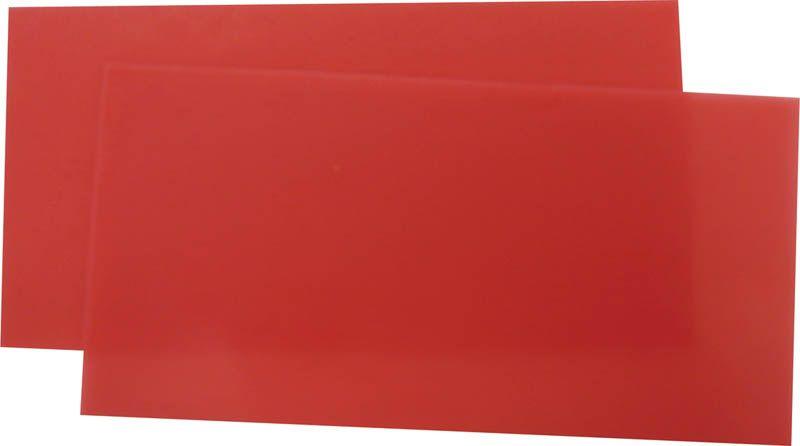 Hygenic, Wax, Base Plate, Medium-Soft #3, Red, 5lb
