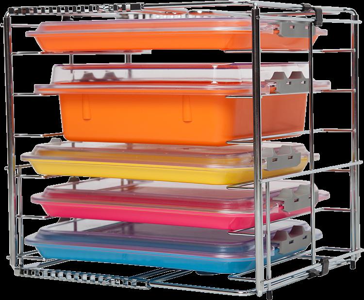 Zirc, Tray & Tub rack, Adjustable