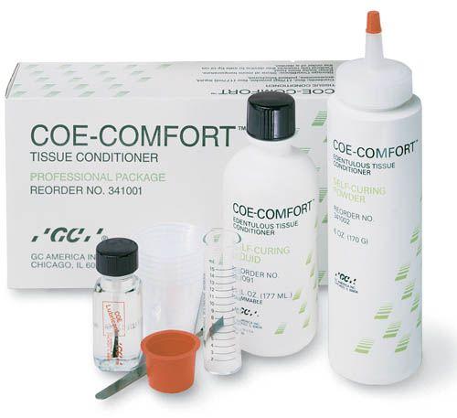 GC, Coe-Comfort Professional, Tissue conditioner, 6oz each of Powder & Liquid