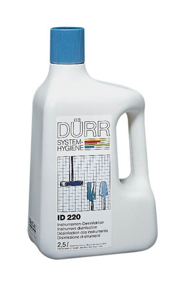 Durr, Disinfectant, Bur, Alcohol based, ID 220, 2.5l Ready to use