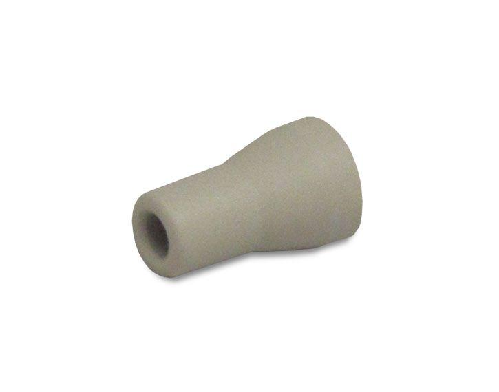 Zirc, Saliva Ejector, Replacement Tip, Gray
