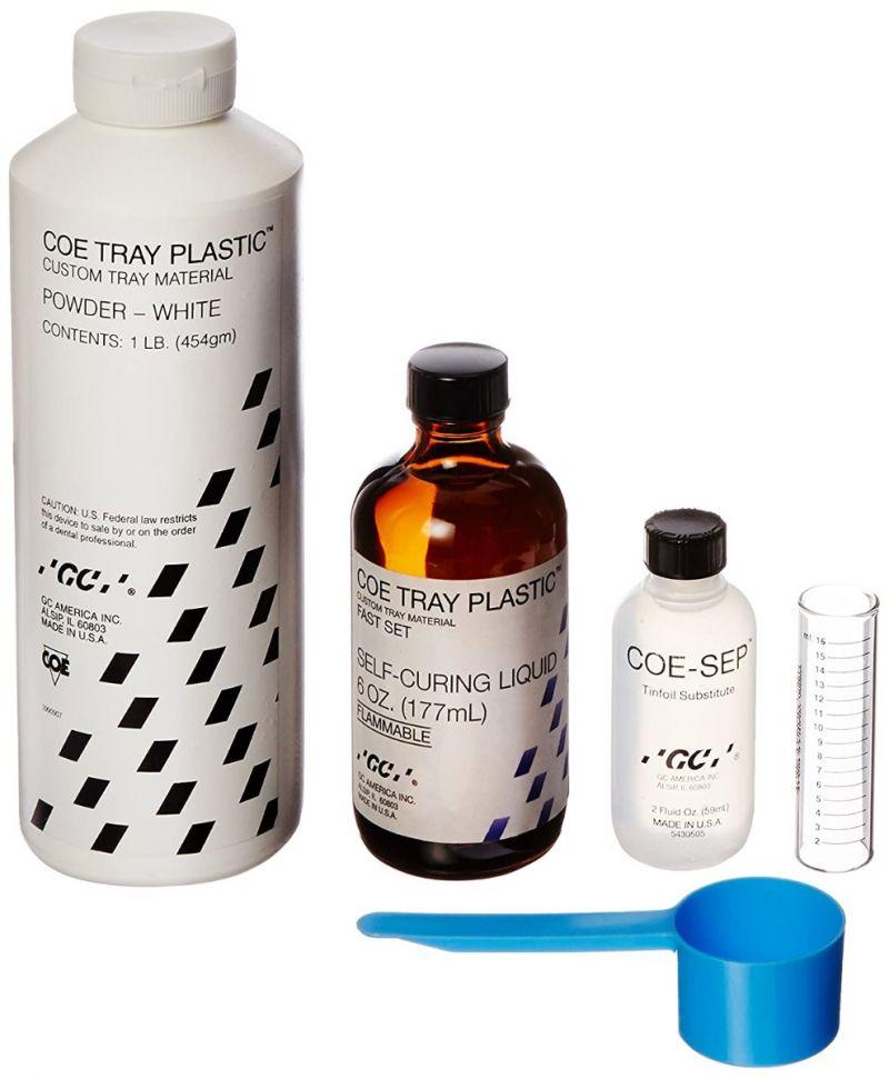 GC, Coe Tray Plastic, White, Fast Set