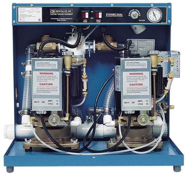 Dtlz, Pump, Dual 2HP, MC202FSW, 230V, w/Water Recycler, 6 Users