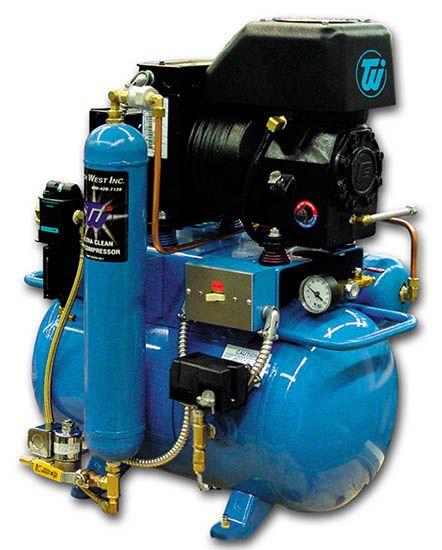 Tech, Compressor, Single 1 H.P., Oil-type, w/Dryer, Copeland head, 115V