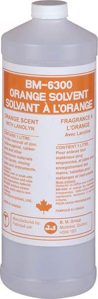 BM Group, BM 6300, Orange Solvent, 1l bottle