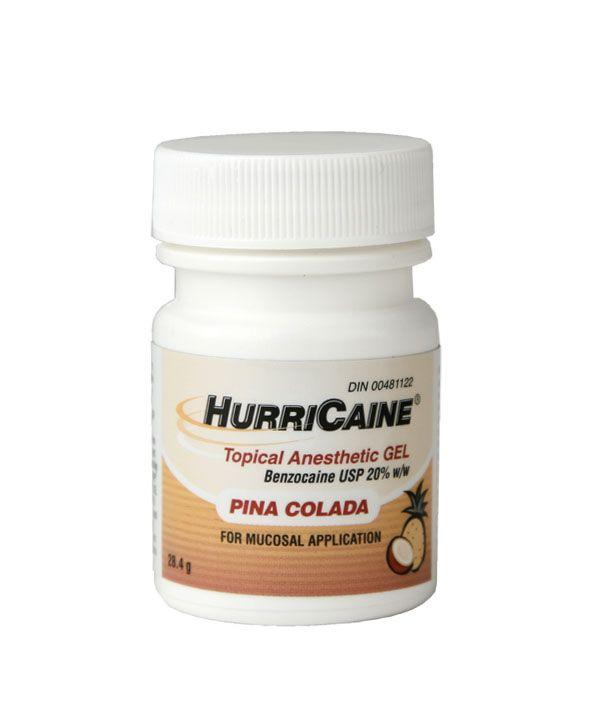 Beutlich, Hurricaine gel, Pina Colada, 1oz. Bottle