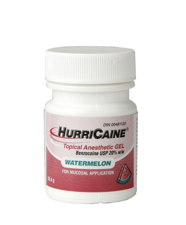 Beutlich, Hurricaine gel, Watermelon, 1oz. Bottle