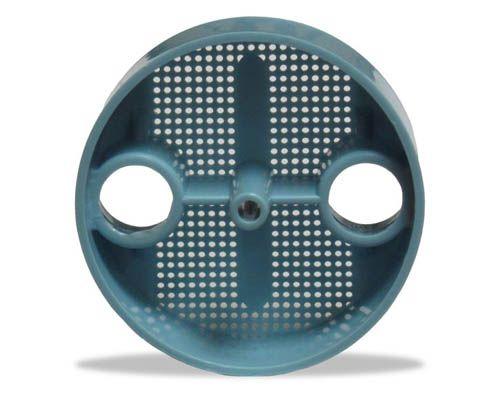 Zirc, Traps, Dispos-A-Screen, Blue, 2-1/8