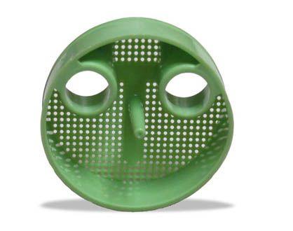 Zirc, Traps, Dispos-A-Screen, Green, 1-7/8