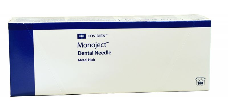Tyco, Monoject, Needle, Metal hub (401), 25G Short