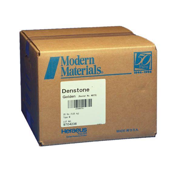 Kulzer, Modern materials, Denstone, Type III, Golden, 45lbs