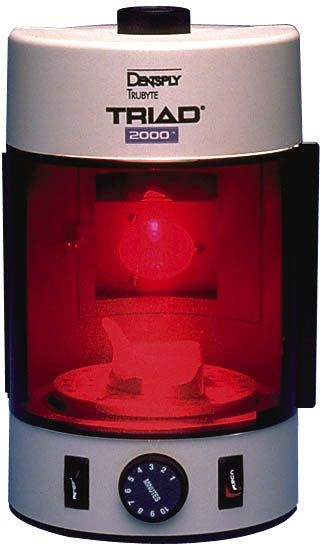 Trubyte, Triad 2000 Visible Light Curing, Accessory Package