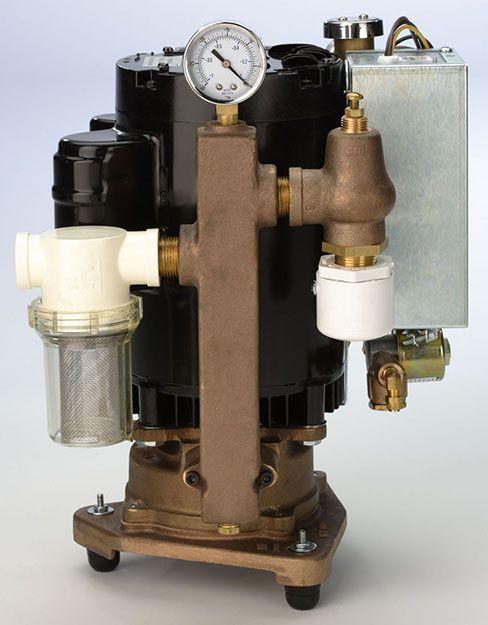 Dtlz, Pump, Single, 1HP, CV-101FSW, w/Water recycler