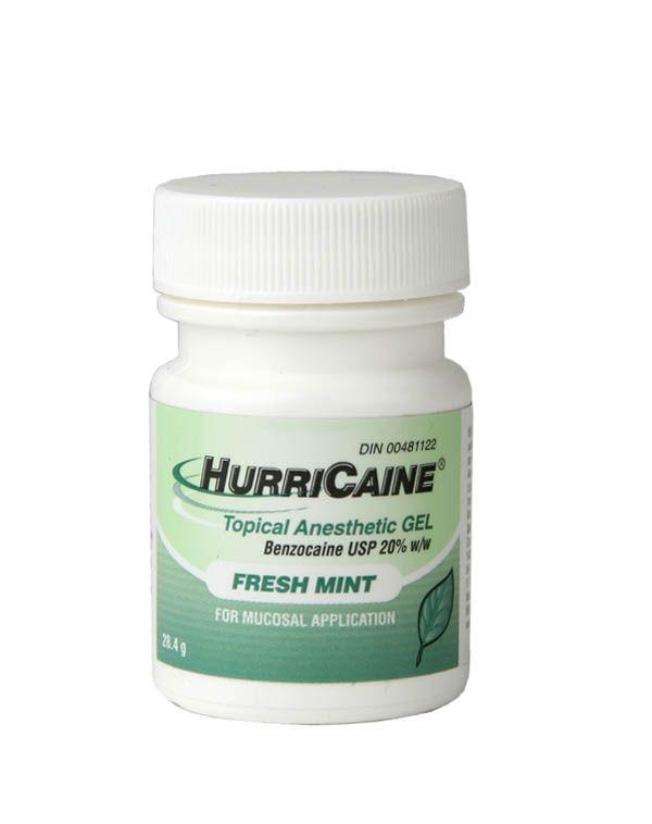 Beutlich, Hurricaine gel, Mint, 1oz. Bottle