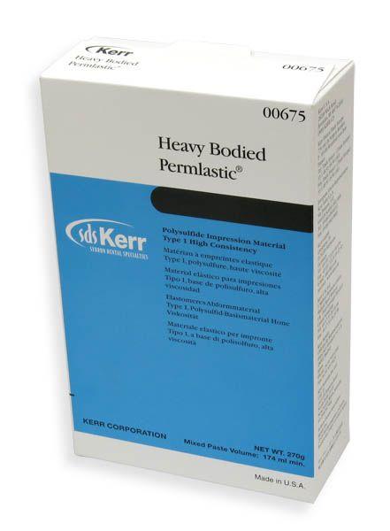 Kerr, Permlastic, Heavy body, 1 - 100g Base tube, 1 - 130g Catalyst tube