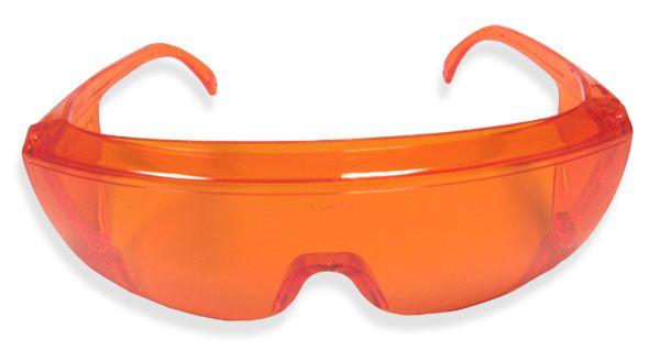Sun, Glasses, TuffSpec, Patient Safety, VLC, Orange w/sides