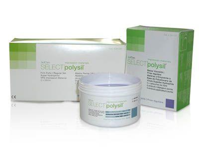 Scican, Polysil Hydrophilic Impression Mat., Transbite, 2 - 50ml Cart. w/6 tips