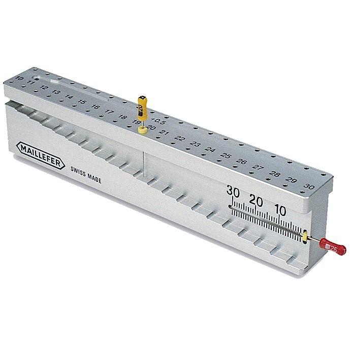 Maillefer, Endo block Measuring device, Endo-M-Bloc, w/42 depth gauges