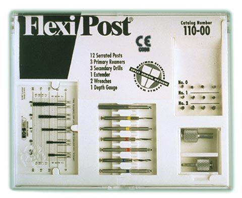 EDS, Flexi-Post refill, S/S, #1 Red, 10/pkg