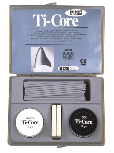 EDS, Ti-Core Build-up material, Gray