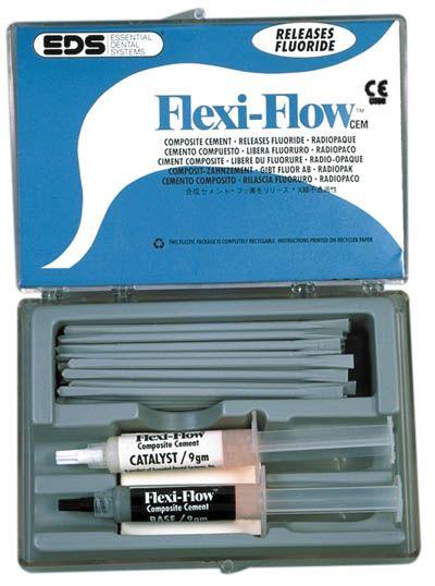 EDS, Flexi-Flow, Cement, w/Titanium & fluoride, Gray