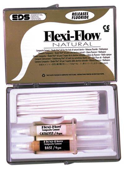 EDS, Flexi-Flow, Cement, w/Titanium & fluoride, Vita A3 (Natural)