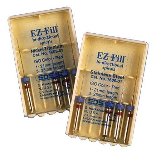 EDS, EZ Fill Bi-direct 4 (1-21mm, 3- 25 mm) Nickel Titanium