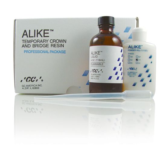 GC, Alike Professional Pkg., 7 - 45g Bottles of powder + 118ml liquid