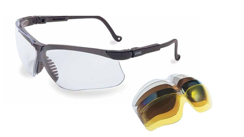 Glasses, Uvex, Genesis, Lense replacement, Clear, UVextreme