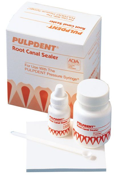 Pulpdent, Root Canal sealer kit, w/Mixing pad & scoop