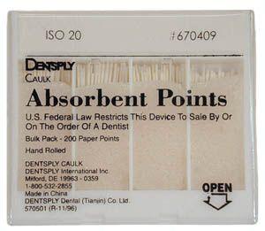 Maillefer, Paper Points, Acc., Medium, 200/box