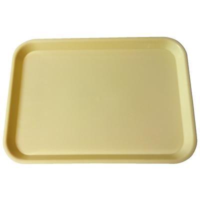 Plasdent, Tray, Flat, Size B, Ritter, Light Yellow