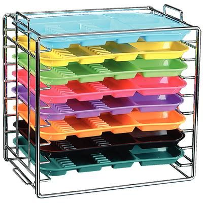 Plasdent, Tray, Rack, Chrome, for Size B Tray, Stackable