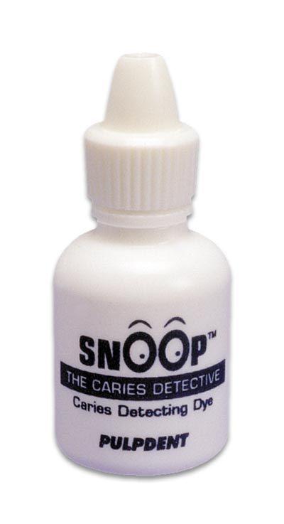 Pulpdent, Snoop Caries Detector, Blue, 12ml bottle
