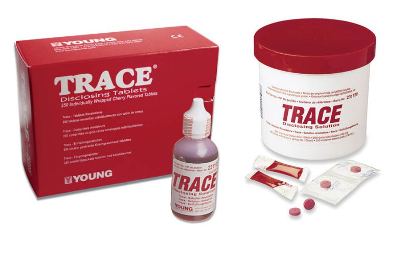 Young, Disclosing Solution, Trace, 2oz. bottle