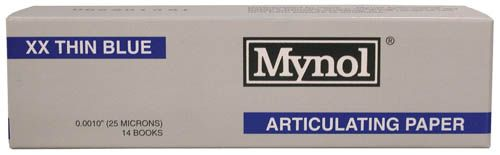 Mynol, Articulating Paper, Thin, 63 microns / 0.0025