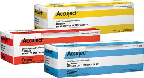 Astra, Accuject, Needles, 25G, Long, 100/pkg